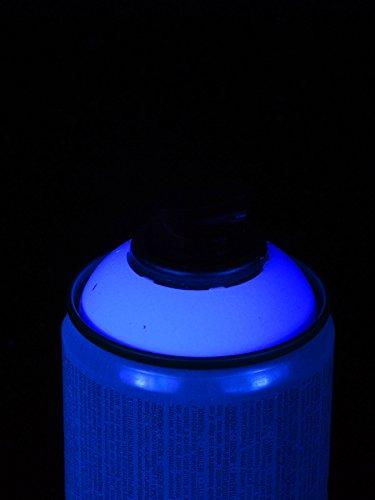 400ml Schwarzlicht Lackspray Blau