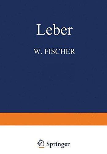 Leber (Handbuch der speziellen pathologischen Anatomie und Histologie) (German Edition) by W. Fischer (2013-10-25)