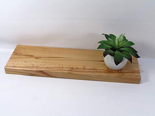 Wandregal/Wandboard Kernbuche 50 cm Schweberegal Regal Board