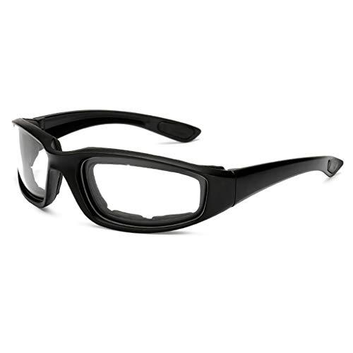 TianranRT Blendschutz Motorrad Radfahren Brille Polarisiert Nacht Fahren Linse Brille Sungl (Klar)