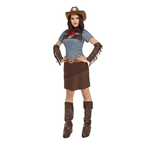 My Other Me Damen Kostüm Cowgirl, M-L (viving Costumes 204367)