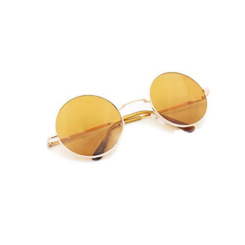 Sports Eyewear, Sunglasses For Women New Brand Designer Men Sun Glasses Round Frame Oculos De Sol Pink Mirror Eyeglass Lunette De Soleil Femme Sunglasses No 04