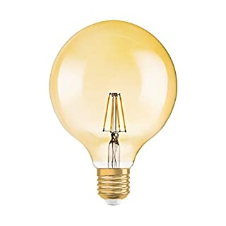 Osram LED Lampe   Sockel E27   Dimmbar   Warm White (2400 K)