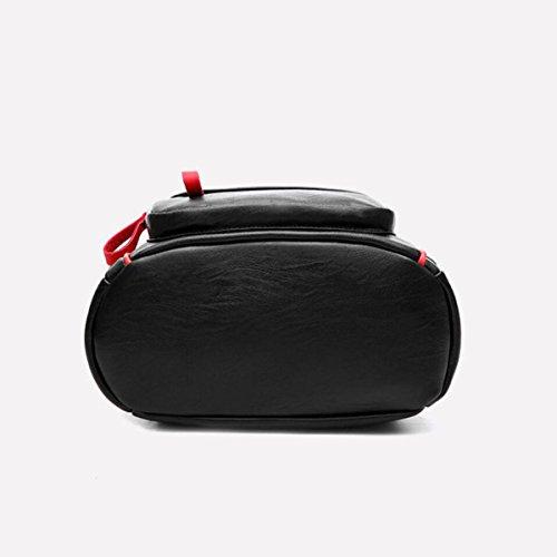 Rucksack Handtaschen Hit Farbe Rucksack Freizeit Reisen Student Taschen White