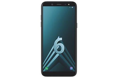 Samsung A6 Smartphone débloqué LTE (Ecran : 5,6 Pouces - 32 Go - Double Nano-SIM - Android) Noir