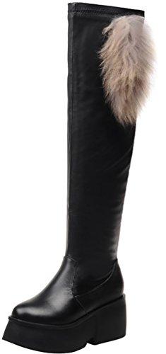 elehot-femme-eleapart-compense-7cm-souple-bottes-noir-385
