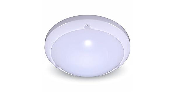 Plafoniere Per Esterno Con Sensore Di Movimento : Plafoniera led 16w con sensore di movimento a microonde colore