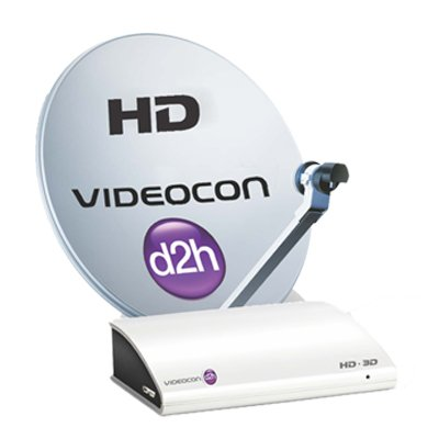 Videocon D2H HD Digital Set Top Box with 1 Month...