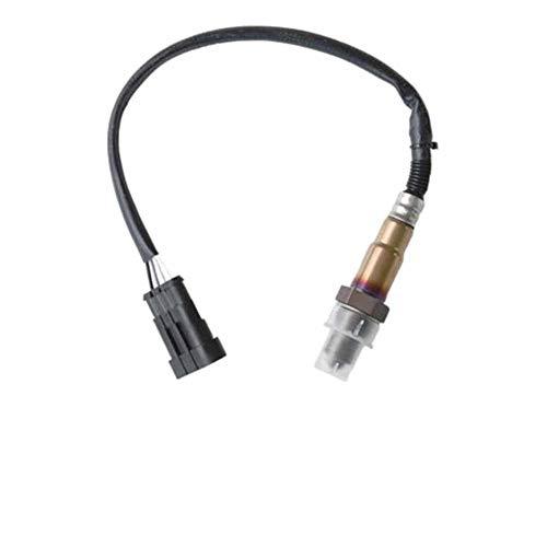 Easy-topbuy 0258006206 Sensor de Ox/ígeno Resistencia a Altas Temperaturas y Corrosi/ón Rendimiento Estable para Fiat 0258006206