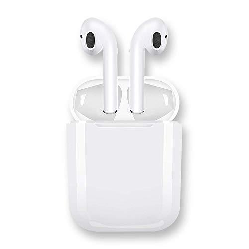 qibang2 Auriculares Bluetooth Auriculares inalámbricos 5.0 Auriculares Bluetooth en Oreja Auricular Estéreo inalámbrico en Oreja Manos Libres para Apple Airpods Android/iPhone