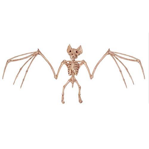 CXZC Halloween Tier Skelett 2 Assorted Ratte Fledermaus Halloween Party Dekoration Prop - Ideal Halloween ()