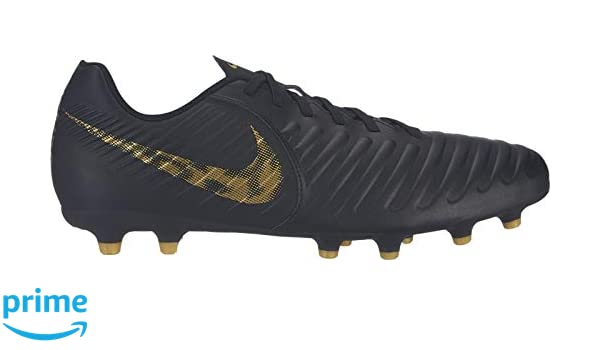 d9390aca838 Nike Men s Legend 7 Club FG Black MTLC Vivid Gold Football Shoes (AO2597-077)  (6 UK India (US-7))  Buy Online at Low Prices in India - Amazon.in