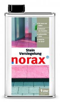 norax Stein Versiegelung 1 l - bildet eine wasserfeste und UV-beständige Schutzschicht