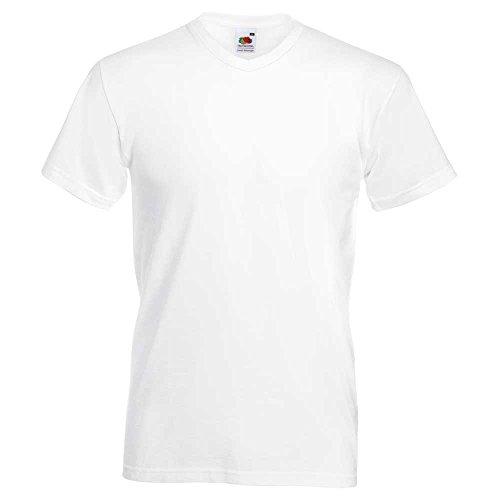 Fruit of the Loom -  T-shirt - Uomo Bianco