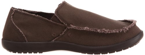 Crocs Santa Cruz, 10128 Santa Cruz Mens Light Grey/Charcoal homme Marron (Espresso/Espresso)