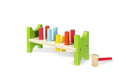 ColorBaby - Juego figuras martillo madera