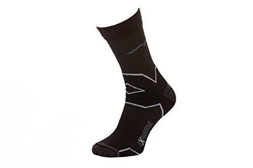 Filmar Factory® Trekking Light Chaussettes de Trekking | Chaussettes fonctionnelles | 22% Merino | Coutures Plates | Double Bride | Antibactérien | Anatomiquement