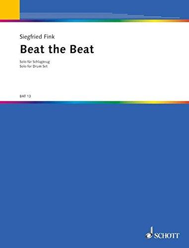Beat-Schlagzeug (große Trommel, Tom-Toms, kleine Trommel, 2 Becken, Hi-hat, Kuhglocken). Partitur. (a battere) ()