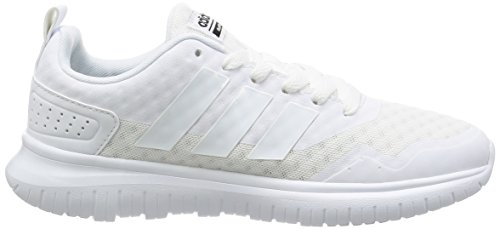 Adidas Cloudfoam Lite Flex W–Chaussures de sport pour femme, noir–(negbas/negbas/grpudg) 6 Blanc