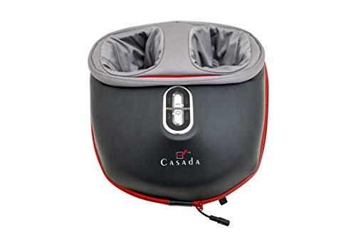 FootInn II Casada Fußmassagegerät Fußreflexzonenmassage Knetmassage SoleRoller Luftdruckmassage Airbagmassage Wärmefunktion einfache Bedienung