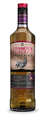 The Famous Grouse Whisky Smoky Black Whisky Escocés - 700ml