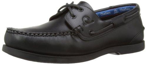 Chatham Marine  Deck G2, Chaussures bateau homme Noir - noir