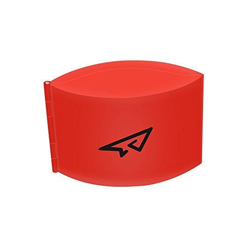 PENIVO Remote Control Transmitter Amplifier Antenna Range Amplifier, Foldable Signal Amplifier Range Extender for DJI Mavic Pro / Spark Drone (Red)