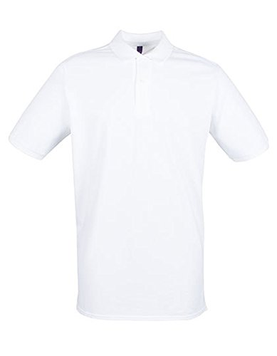 Modern Fit Cotton Microfine-Pique Polo Shirt White