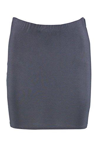 Grau Aaoife Schlichter Minirock Aus Jersey Grau