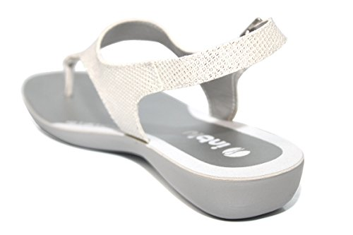 INBLU , Sandales pour femme Blanc blanc 16 Blanc