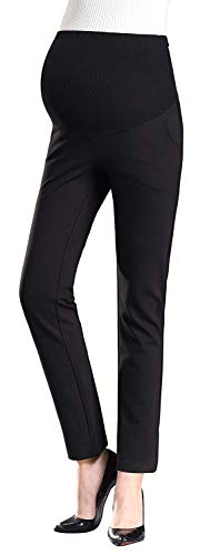 Foucome Damen Hose Gr. X-Small, 080-Ponte Fabric-Stretch-Black -
