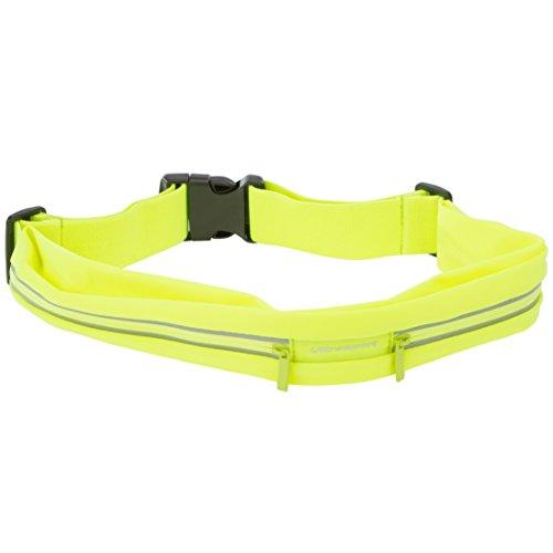 Riñonera amarilla deportiva para runner