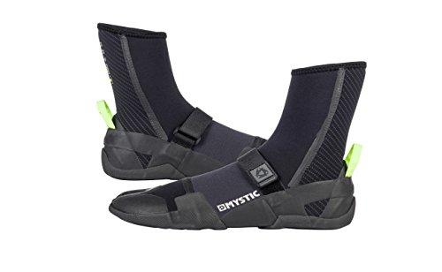 2018 Mystic Lightning Split Toe Boot 5mm BLACK 180040 Mystic Shoe Size - UK 10 (Euro 44/55) (Boots Split Toe Wetsuit)