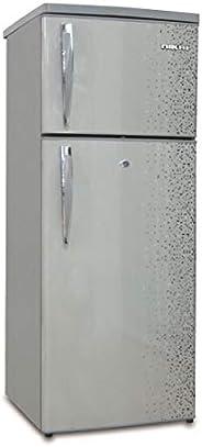 Nikai Double Door Defrost Refrigerator, Silver - NRF170DN3M, 1 Year Warranty