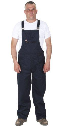 dickies - Redhawk Salopette da Lavoro - Blu Marina Abbigliamento da Lavoro Tuta DICKIES02-XXL
