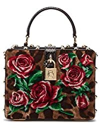 64215f8738b0 Dolce E Gabbana Femme BB5970AZ3968S193 Noir Cuir Sac À Main