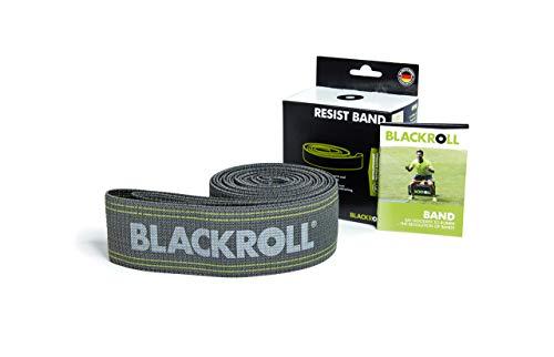 BLACKROLL RESIST BAND - grey - Fitnessband. Trainingsband für das moderne Athletiktrainig mit starker Dehnbarkeit in grau - Stoff Sprint