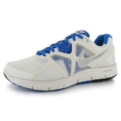 Nike-Tee S Am Story 3-Maglietta a maniche lunghe da uomo Blanco (White / Cool Grey / White / Gym Red)