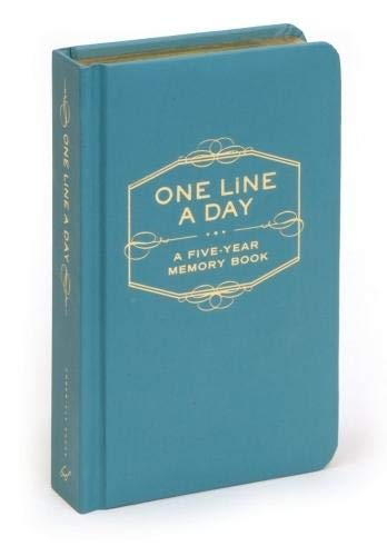 One Line a Day: A Five Year Memory Book por Chronicle Books Staff