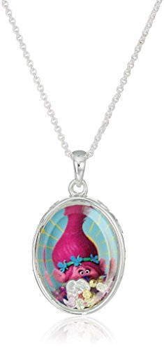 trolls-dreamworks-poppy-silver-plated-childrens-is-it-cupcake-time-floating-shaker-pendant-necklace-