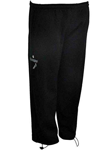 f99a4bc0ab3e Allsize - Pantalon de jogging coton noir Ottoman - Allsize grande taille  homme - Noir