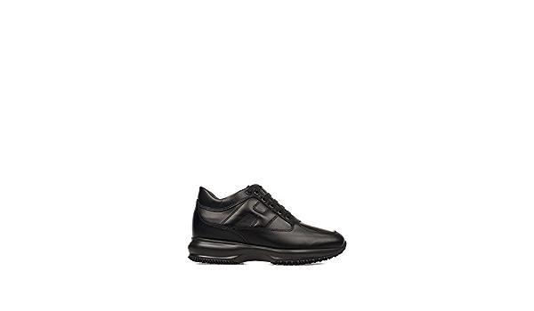 Hogan Sneakers Donna Hxw00n00010btlb999 Pelle Nero : Amazon.it: Moda