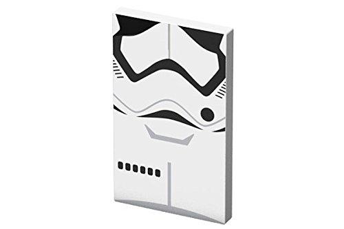 Tribe Star Wars TFA 4000 mAh Power Bank Fast Charger I Caricabatteria Portatile Universale USB I Batteria Esterna per tutti Smartphone Cellulari, iPhone, iPad, Kindle e Tablet - Stormtrooper