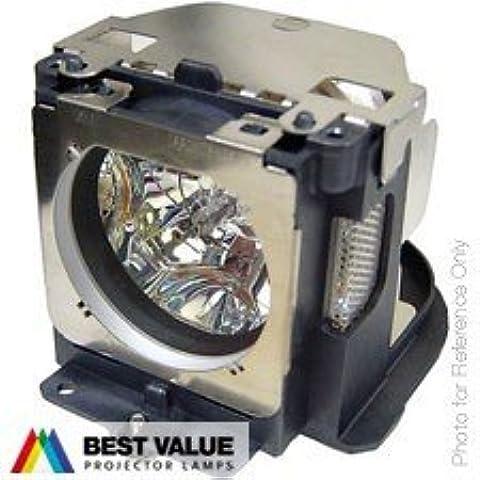 Alda PQ® - Originales lámpara de proyector / repuesto POA-LMP111 / 610 333 9740 / POA-LMP121 para SANYO PLC-WXU30 PLC-WXU3ST PLC-WXU700 PLC-XU101 PLC-XU105 PLC-XU111 PLC-XU115 proyectores, lámpara originales con PRO-G6s caja / titular