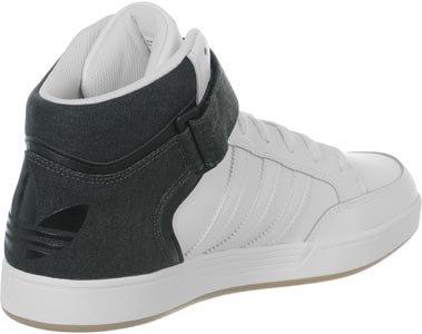 adidas Varial Mid, Chaussures de Skate Homme Noir / Blanc / Marron (Negbas / Ftwbla / Gum3)