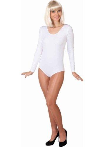 Preisvergleich Produktbild Kostüm Body weiß Langarm (S/M)