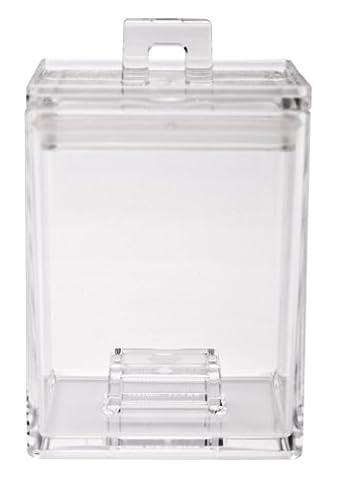 Zak Designs 0025-D222 Boîte à Épices Empilable 180 ml Transparent