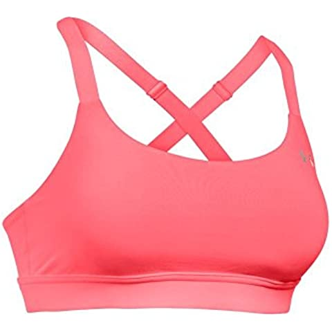 Under Armour–Bustino and Top Eclipse, Donna, Fitness Bustier and Top Eclipse, Brilliance, L