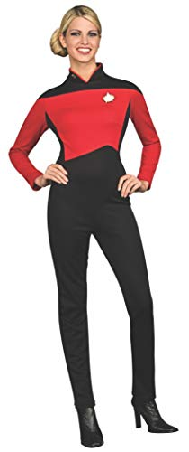 Rubie's Deluxe Commander Uniform 'Star Trek - The Next Generation' für Damen Gr. XS-M, (Commander Kostüm)