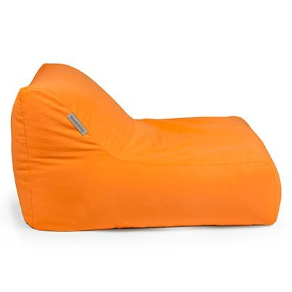 Pushbag Sitzsack Chair aus Soft (Polyester), 90x120x35cm, 450l, orange